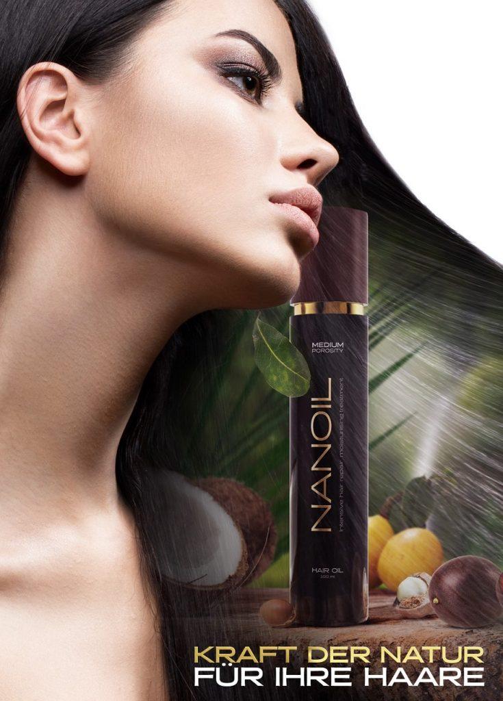 Warum lohnt es sich nach Haarölen Nanoil zu greifen
